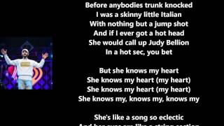 She Knows My Heart - Jon Bellion (Lyrics)