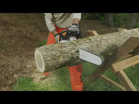 Stihl MS 391 18 in. in Saint Johnsbury, Vermont - Video 1