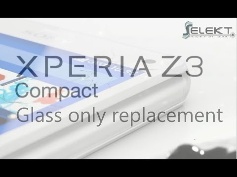 Sony Xperia Z3 Compact (D5803) Glass Touch Digitizer Only Replacement / Wymiana szybki | Selekt