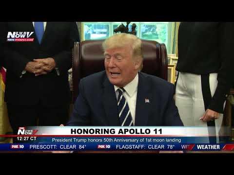 APOLLO 11: President Trump Talks Moon and Future of Mars
