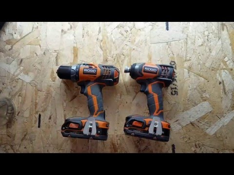 Rigid Cordless Drill and Driver Review