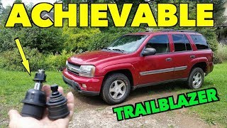 TrailBlazer Upper/Lower New Ball Joints Replacement.