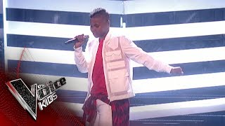 Donel Mangena Performs 'Bang Like A Drum': The Final | The Voice Kids UK 2018