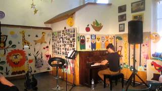 Video Petr Ševčík-  I dont want to miss a thing /cover/ , Angels /cove