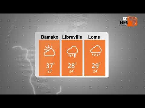 Bayanan Yanayi (Weather) a yau 15/10/2019 daga manyan biranen Kasashen Yammancin Afirka.