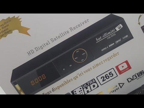 ÉTAT DU SAT ILLIMITE F300 HYPER 03.10.2018(LIÉ AVEC WIFI,MIS À JOUR,AJOUTER DES CHAÎNES...)