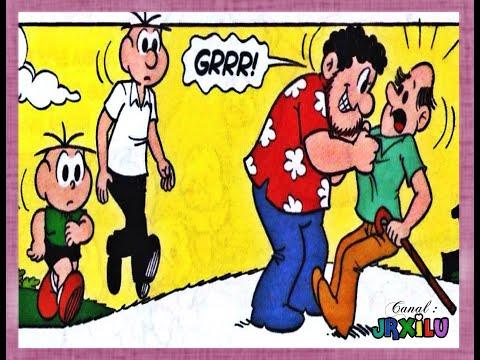 Cebolinha em - O herói Quadrinhos Turma da Mônica