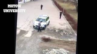 3 FEMALE cops try to take down 1 violent MALE refugee!! What did you expect Sweden    MGTOW