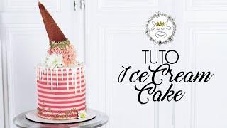 TUTO : Layer Cake Ice-Cream Cake (cornet De Glace)