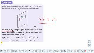 Eğitim Vadisi TYT Fizik 4.Föy Madde ve Özkütle 4 Konu Anlatım Videoları
