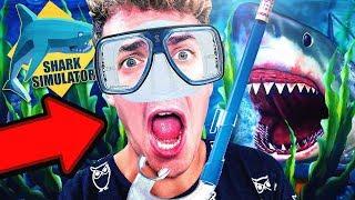 WHAT IT FEELS LIKE TO BE A SHARK!! - Shark Simulator