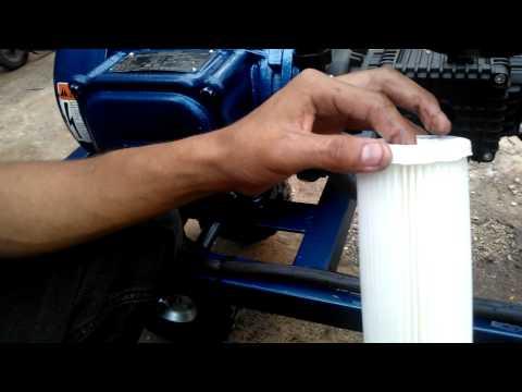 mantenimiento 1 cambio de cartucho de filtro de agua