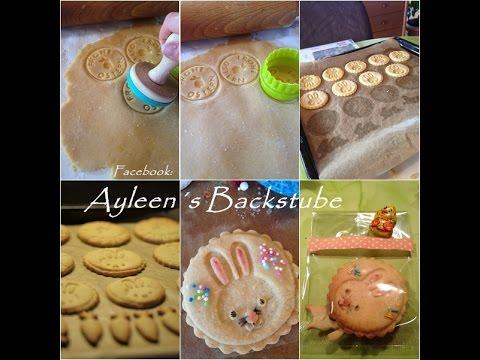 Selbst gemachte Stempel Kekse und Ausstecher