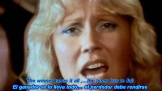 ABBA  The Winner Takes It All HD Lyrics (Sub-Español Ingles)    —.flv