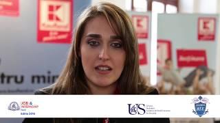 ASE Job & Internship FAIR 2016 - interviu Estera Anghelescu KAUFLAND România