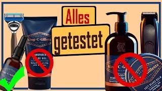 King C Gillette Produktlinie im kritischen Test. Bartöl | Bartbalsam | Bartshampoo |