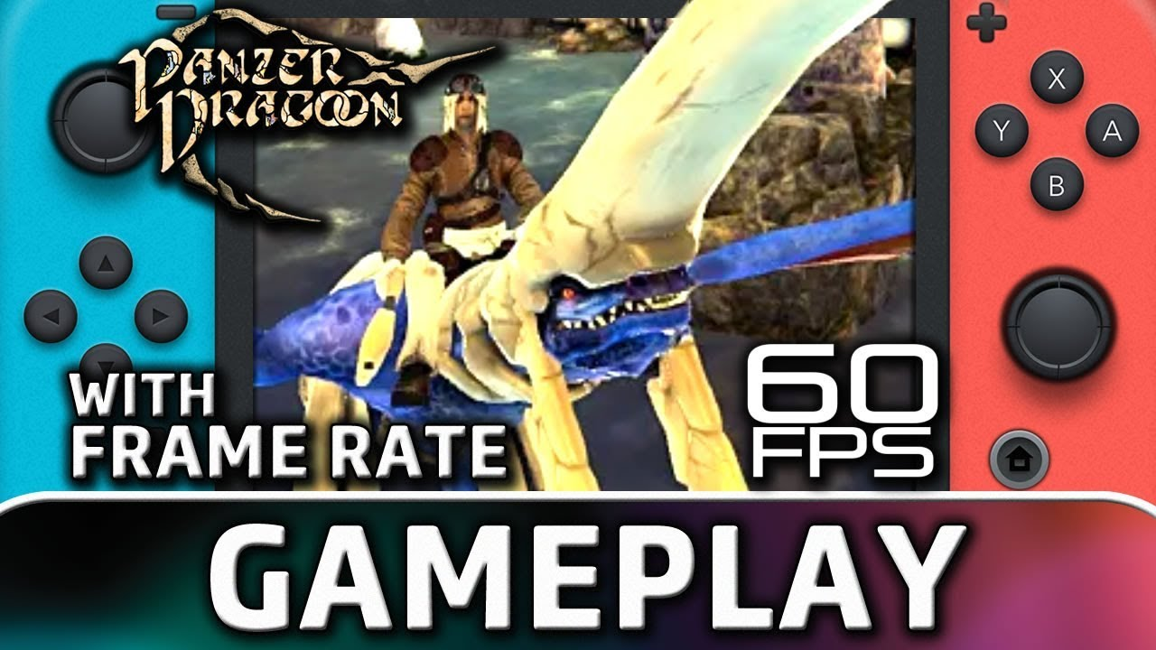 Panzer Dragoon: Remake | 60 FPS Switch Gameplay (Patch 1.3)