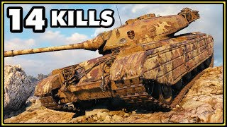 Progetto M35 mod 46 - 14 Kills - 1 vs 6 - World of Tanks Gameplay
