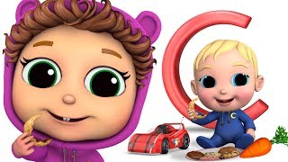 Letter C | Learn the ABC's | Educational | Baby Joy Joy on Clap Clap Baby