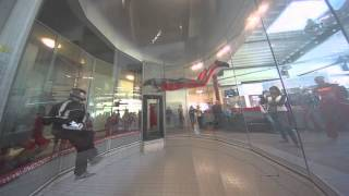 preview picture of video 'Indoor Skydiving Bottrop'