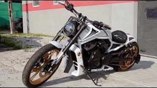 Finalny efekt zrobił wrażenie na właścicielu tego motocykla! #Garaż_Dudy