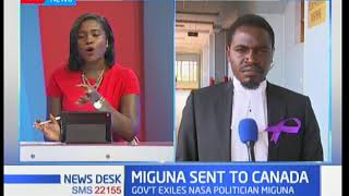 Update on Miguna Miguna's deportation case from lawyer Nelson Havi