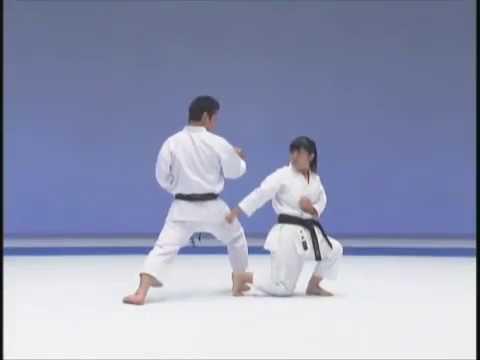 kata with bunkai _ enpi