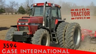 The First Case International Tractor: Model 3594