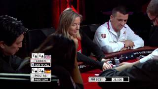 Mestre V Coren Bluff, Re-bluff, Re-re-bluff The Table 2011 - International Federation Of Poker