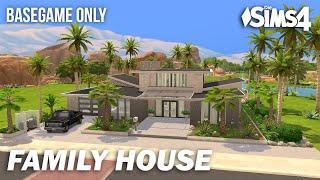 Family House | Basegame | No CC | Stop Motion | Sims 4
