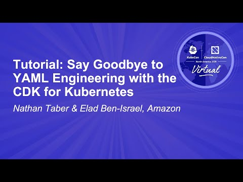 Image thumbnail for talk Tutorial: Say Goodbye to YAML Engineering with the CDK for K8s