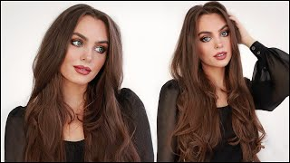 10 Minute BLOWOUT with Straightener   90s Hair Tutorial