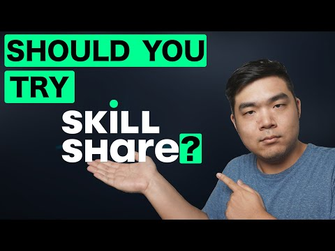 I tried THREE WEEKS of Skillshare Classes: Skillshare Review