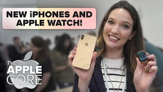 New iPhones and Apple Watch compared to last year's models
