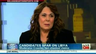 The Libya Moment: Debate Moderator Candy Crowley Discusses Fact-Check Claims