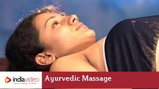 Udwartana - Ayurvedic powder massage