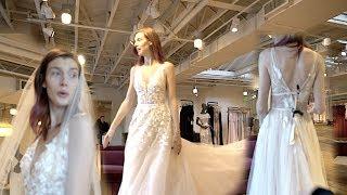 SHE FOUND HER WEDDING DRESS!!