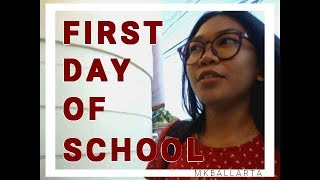MY FIRST DAY OF SCHOOL || YAY OR NAY?