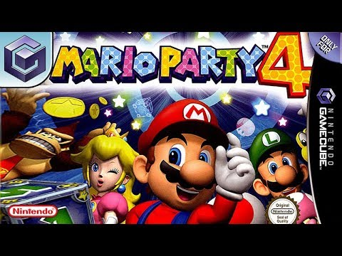 """GAMECUBE """" MARIO PARTY 4 """" COMPLET, COMME NEUF !!"""