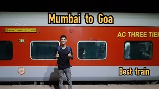 MUMBAI TO GOA BY KONKAN KANYA EXPRESS 🚂    BEST TRAIN