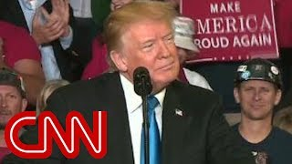 Trump stumps in Kentucky 24 days ahead of midterms