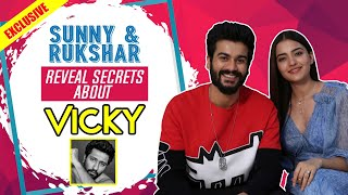 Sunny Kaushal and Rukshar Dhillon REVEAL HILARIOUS secrets about Vicky Kaushal | Bhangra Paa Le