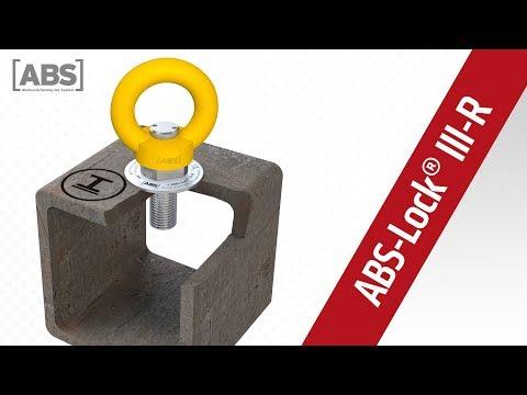 Kompakte Video-Präsentation zum Sekuranten ABS-Lock III-R-ST zum Einschrauben