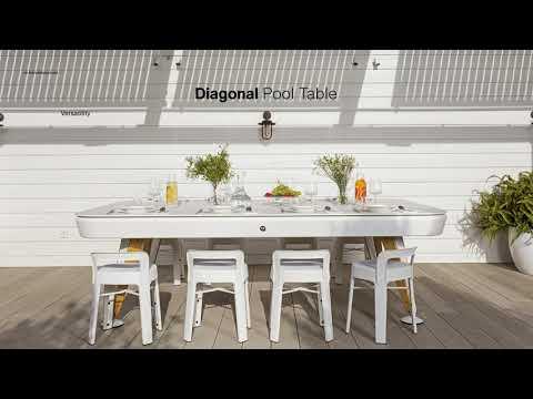 RS Barcelona Diagonal Billardtisch