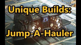 Elite Dangerous - Unique Builds! - Jump-A-Hauler!