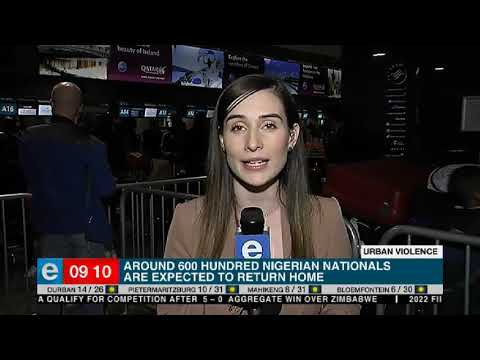 Nigerian nationals flee South Africa