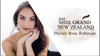 Hayley Robinson Miss Grand New Zealand 2018 Introduction Video