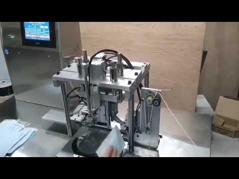 Auto Rotate Semi Automatic Ear Loop Fixing Machine
