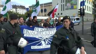 preview picture of video 'Naziaufmarsch in Wuppertal am 21.09.2013'