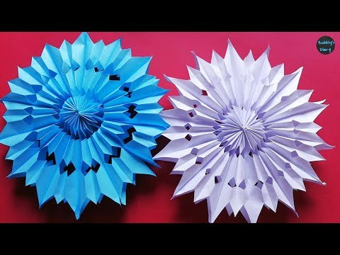 Download Diy 3d Quilling Paper Snowflakes Christmas Tree Ornaments